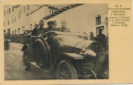 H93 - SERBIE - Son Altesse Le Prince Héritier Et La Princesse Hélène à Uscub - Serbie