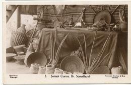 British Somaliland Real Photo Somali Curios Antiques Cowasjee Dinshaw Berbera - Somalia