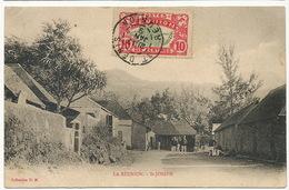 La Réunion  St Joseph Coll. HM Timbrée Gendarmerie Vers Gendarme Meung Sur Loire Leger Pli En Haut à G. - La Réunion