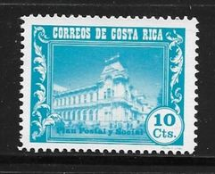 COSTA RICA 1967 PLAN SOCIAL  YVERT N°281  NEUF MNH** - Costa Rica