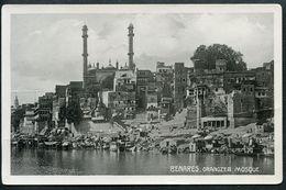 Benares, Varanasi, Orangzeb Mosque, Ganges, Uttar Pradesh - Indien