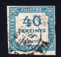 Taxe N° 7 Avec Oblitération Cachet à Date à 15% De La Cote  TB - 1859-1955 Used