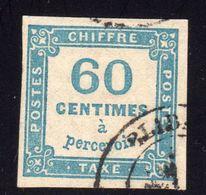 Taxe N° 9 Avec Oblitération Cachet à Date à 15% De La Cote  TB - 1859-1955 Used