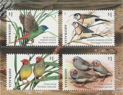 AUSTRALIA 2018 Birds Oiseaux The Finches   4v   MNH** - 2010-... Elizabeth II