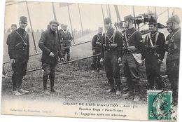 CIRCUIT De L'Est Aviation PARIS-TROYES - LEGAGNEUX Après Son Atterrissage - POIT/ROUI - - Troyes
