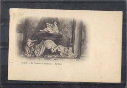 5487 .  NANCY . LLE TOMBEAU DE STANISLAS . ND  . (recto Verso)  DOS SIMPLE - Nancy