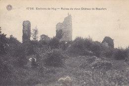 Huy (environs De) - Ruines Du Vieux Château De Beaufort (animée, 1913) - Huy