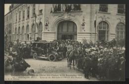 61 ALENCON - Grandes Fetes 1909 - Arrivée Du Ministre à L'hotel Des Postes - Alencon
