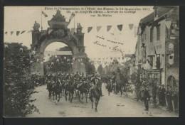 61 ALENCON - Grandes Fetes 1909 - Arrivée Du Cortege , Rue St Blaise - Alencon