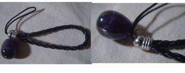 Decorative Strap : Power Stone : Amethyst - Charms