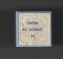 1 Film Fixe TINTIN  AU CONGO  N°10   (ETAT TTB ) - Bobines De Films: 35mm - 16mm - 9,5+8+S8mm