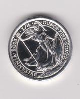 Pièce Anglaise D'un Quart D'once Frappée Avec L'argent Du Gairsoppa En 2013 - Royaume-Uni