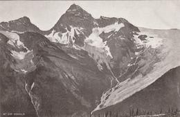 Old Postcard - Manitoba Canada - Mt. Sir Donald - Rocky Mountains - Photo J.H. Clarke, Selkirk Man. - Unused - 2 Scans - Manitoba