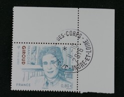 Francoise Giroud  5079 Oblitéré France 2016 - Francia