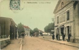 BETHENIVILLE LA GARE ET L'HOTEL - Bétheniville