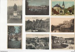 Lot De 25 CPA- Petits Formats - Sur Le Département De La CORREZE - Postcards