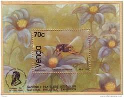 D90328 Venda South Africa 1992 Honey BEES M-s MNH - Afrique Du Sud Afrika RSA Sudafrika - Venda