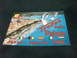 TROFEO DELLE PALME LOANO 1966 PALLACANESTRO CESTISTA AL CANESTRO BANDIERE LIGURIA - Pallacanestro