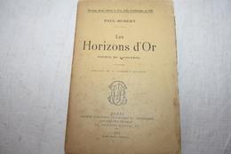 PAUL-HUBERT / Les Horizons D'or Poèmes Du Languedoc - Poésie