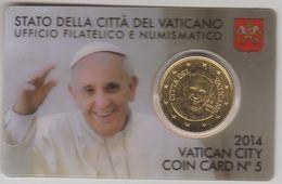 Vatican Coincard 2014 50c - Vatican