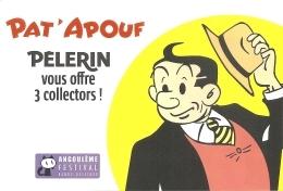 BD - Flyer - Pat'Apouf - Pélerin - 39e Festival BD 2012 - Réédition De PatApouf En Bretagne - Ill. Gerry - Books, Magazines, Comics