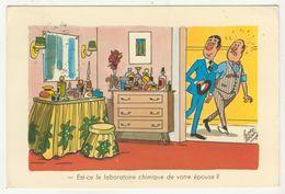 Pedro Segui       - Est-ce Le Laboratoire Chimique De Votre épouse ? - Illustrators & Photographers