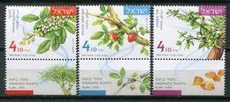 Israel 2017 / Plants MNH Plantas Plantes Pflanzen / Cu7420  40-9 - Végétaux