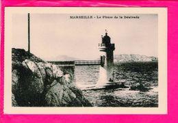 Cpa  Carte Postale Ancienne  - Marseille Phare De La Desirade - Otros