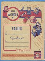 Protège Cahier - Pile Wonder - Accumulators