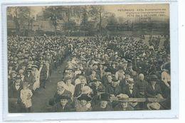 Paturages  XXV E Anniversaire  Des Fanfare Et Chorale Socialistes Le Public ( Etat !!! Papier Collant Au Dos ) - Colfontaine