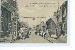 Paturages  XXV E Anniversaire  Des Fanfare Et Chorale Socialistes La Rue Du Peuple - Colfontaine