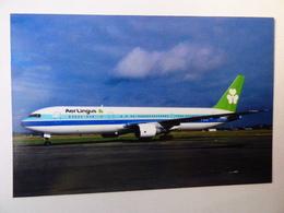 AER LINGUS  B 767 300    EI CAL   COULEUR AIR ARUBA - 1946-....: Era Moderna