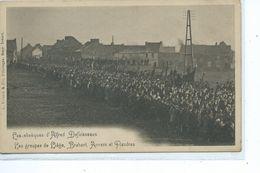Pâturages Obsèques D'Alfred Defuisseaux Les Groupes De Liège Brabant Anvers Et Flandres - Colfontaine