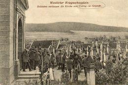 CPA - COLROY-la-GRANDE (88) - Westlicher Kriegsschauplatz - Sortie De Messe Des Soldats Allemand En 1916 - Colroy La Grande