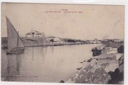 L Aude La Nouvelle Le Port Et La Vigie Voilkier Barque De Peche 1919 - Port La Nouvelle