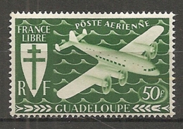 GUADELOUPE -  Yv.  PA N°  4  *  50f  Série Londres    Cote  1,3 Euro  BE 2 Scans - Guadeloupe (1884-1947)