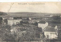PAGNY-SUR-MEUSE . VUE GENERALE DU QUARTIER DE LA GARE . ECRITE LE 17 7bre 1920 - France
