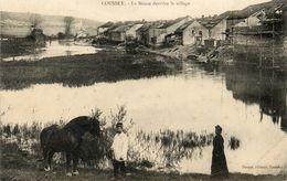 CPA - COLROY-la-GRANDE (88) - Aspect Du Bourg Et De La Meuse à L'arrière Du Village En 1909 - Colroy La Grande