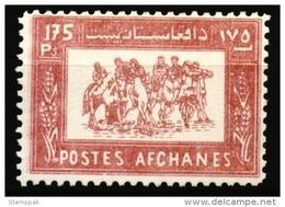 Afghanistan,1960, Buzakashi Sport, Horses, 482,MNH - Afghanistan