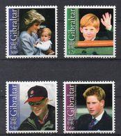 GIBRALTAR  Timbres Neufs ** De 2002   ( Ref 5201 ) Famille Royale  Harry - Gibraltar