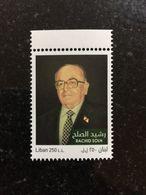 Lebanon 2018 Prime Minister Rachid El Solh Beirut Saida MNH Stamp - Libano