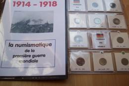 Lot WW I M : Collection WW I (première Guerre Mondiale 1914-1918) - Monnaies & Billets