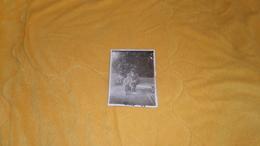 PHOTO ANCIENNE DE 1928 / A IDENTIFIER. / ANOTATION AU DOS VANNOISE. / SCENE ENFANTS SUR VELOS - Personas Anónimos