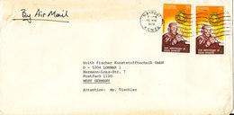 Kenya Cover Sent Air Mail To Germany Nairobi 16-8-1979 - Kenya (1963-...)