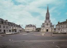 Carte 1970 MAYET / PLACE DE L'EGLISE - Mayet