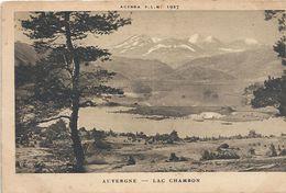 AGENDA PLM 1927. LAC CHAMBON . 1 TRACE DE PLI SUR LE HAUT VISIBLE SEULEMENT AU VERSO .NON ECRITE - Autres Communes