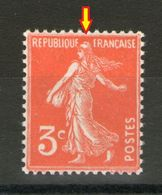 N° 278Ae*_sans Cadre Nord_papier Fin_tres Bon Centrage - 1906-38 Sower - Cameo