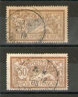 N° 120°-120G°_papier GC_1905/1919_cote 4.50 - 1900-27 Merson