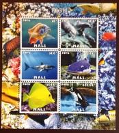2016 Fish Minisheet MNH - Fishes