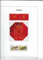 2007 MNH Indonesia Year Collection According To DAVO Album (8 Scans) Postfris** - Indonésie